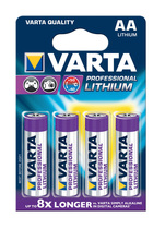 Varta Batterie Professional Lithium AA