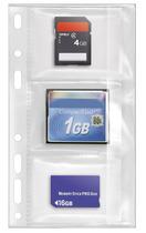 Veloflex Datenträger-Aufbewahrung, Speicherkartenhülle