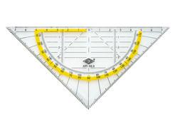 WEDO® Geometrie-, Zeichendreieck (Büro, Schule) Geometrie-Dreieck Standard