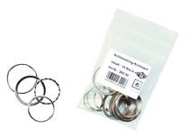 WEDO® Sortiment mit Metall-Schlüsselringen