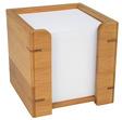 WEDO® Zettelbox, -kasten Zettelbox gefüllt Bambus