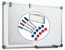 Whiteboard 2000 MAULpro Komplett-Set
