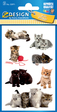 Z-Design CRE Papier Sticker Katzen Photo