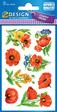 Z-Design Flower Sticker Mohn