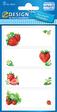 Z-Design HOME Haushaltsetikett Erdbeeren