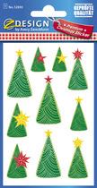 Z-Design Weihnachts-Etikett