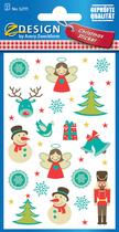 Z-Design Weihnachts-Sticker