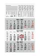ZETTLER Dreimonatskalender 956