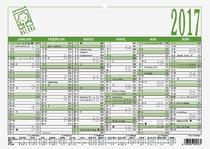 ZETTLER Tafelkalender Recycling