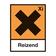 """Bild zeigt offizielles Logo Gefahrstoffsymbol """"Xi""""/""""Reizend"""" (nach """"REACh"""" / Registration Evaluation and Authorization of Chemicals / EU-VO 1907/2006)"""