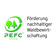 DasProgramme for the Endorsement of Forest Certification Schemes(PEFC) ist die weltweit größte unabhängige Organisation zur Sicherstellung einernachhaltigen Waldbewirtschaftungunter Gewährleistung ökologischer, sozialer und ökonomischer Standards.