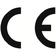 Durch die Anbringung der CE-Kennzeichnung bestätigt der Hersteller, dass das Produkt den produktspezifisch geltenden europäischen Richtlinien entspricht.